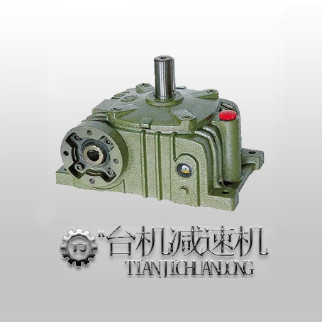 卧式蜗轮减速机油压马达专用tj-bv型-东莞台机减速机